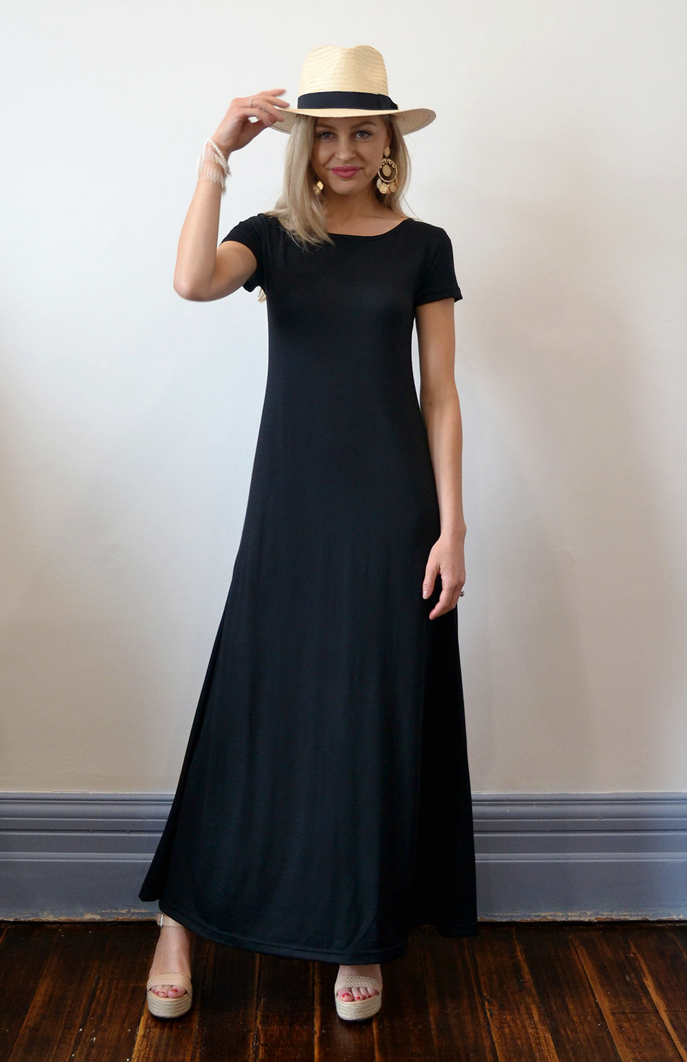 You can buy this stunner right  here . Available in classic black only.