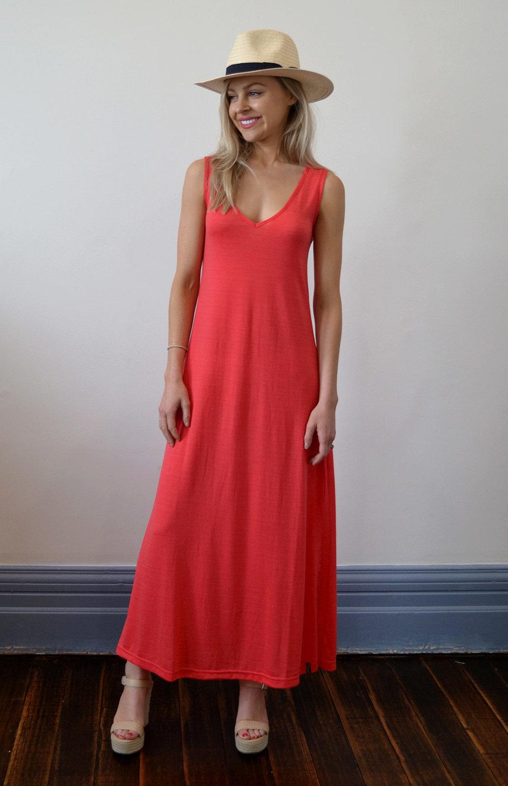 8572-v-neck-maxi-dress-hot-coral-01.jpg