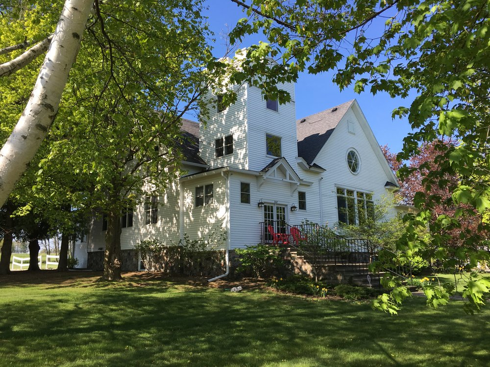 Maple Manor is walking distance to downtown Sister Bay and the beach.