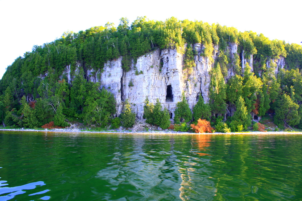 Spectacular bluffs throughout Door county, WI