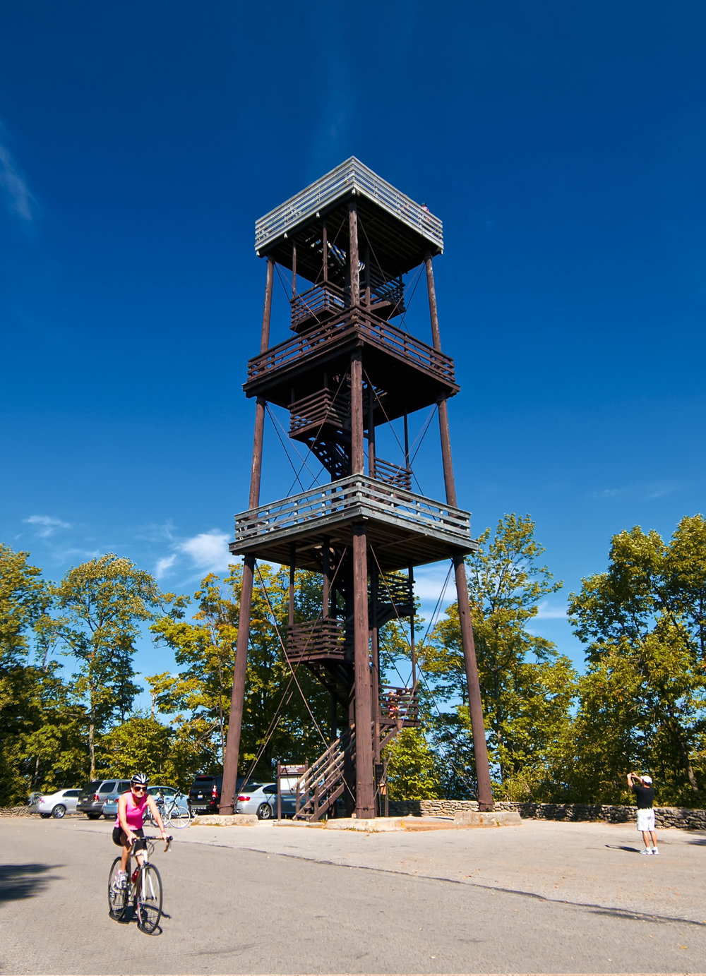 The tower in Peninsula State Park