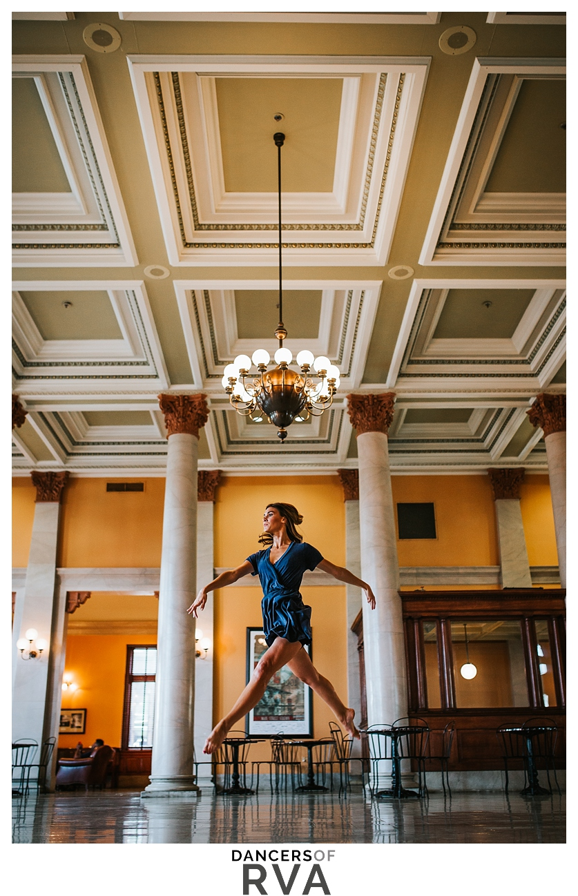 Richmond Virginia Main Street Station Dance Session Gianna Grace Photography Dance Photographer Stavna Ballet Company