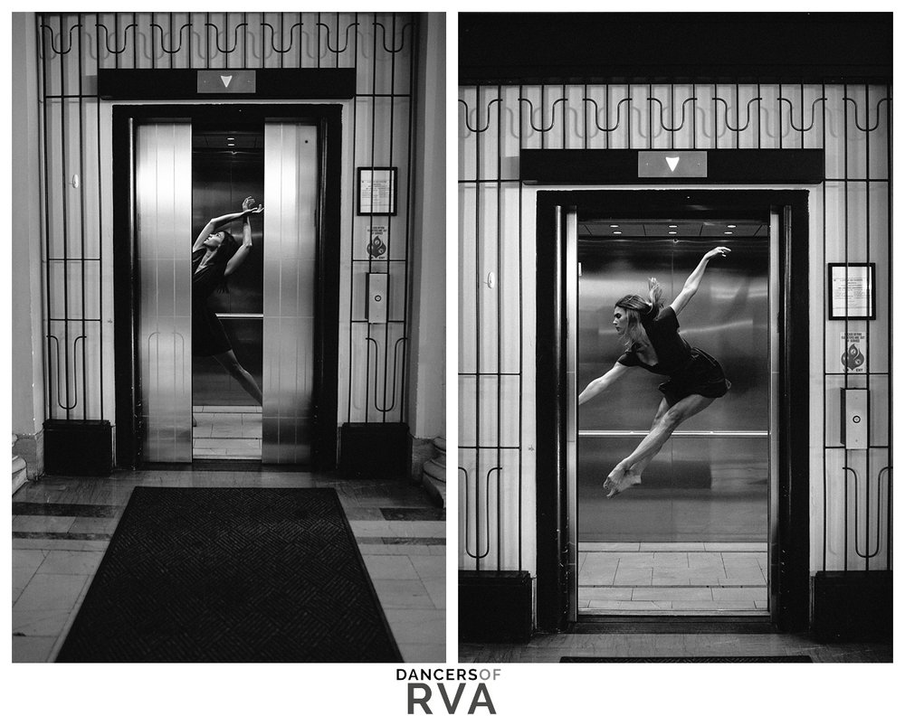 Richmond Virginia Main Street Station Dance Photography Gianna Grace Photography Stavna Ballet Company