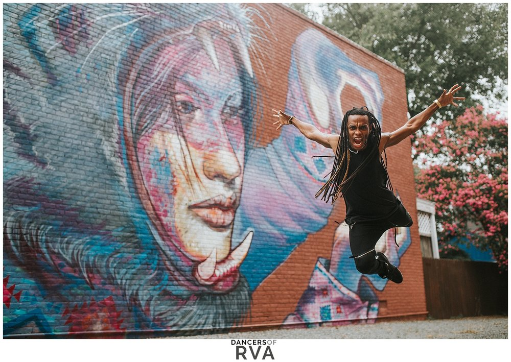 Richmond-Dance-Photographer- Dancers-of-RVA-Latin-Ballet-J.Static-Gianna-Grace-Photography-Carytown-RVA-Mural-Photoshoot