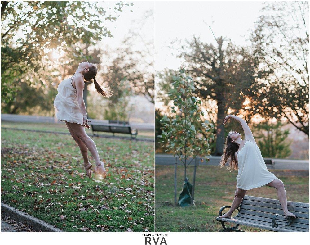 Modern Dancer at Libby Hill Richmond VA Dancers of RVA