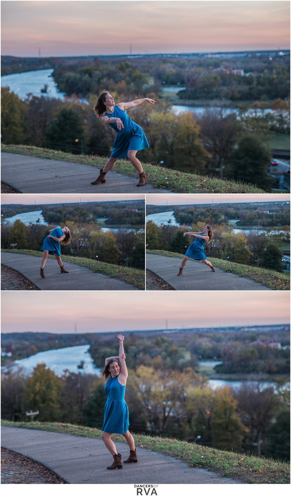 Sunset Session at Libby Hill with Dancers of RVA Richmond VA Photographer
