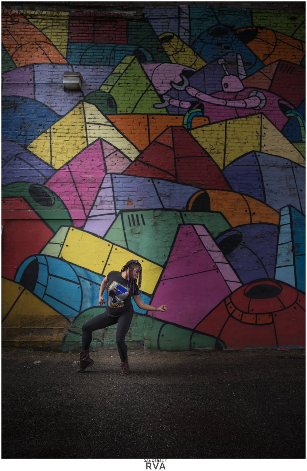 RVA Shockoe Bottom Dance Photoshoot