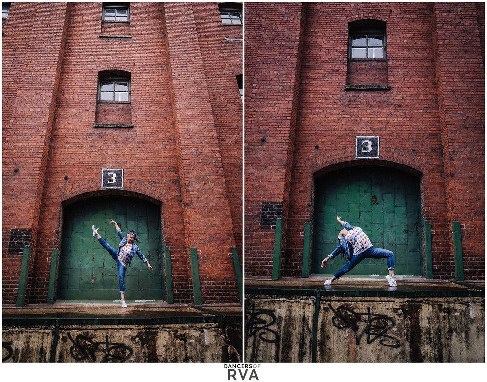 Dancer in RVA Shockhoe Slip Dancers of RVA