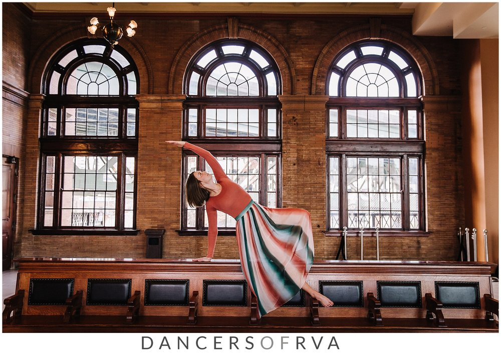 Dancer at Main Street Station RVA Gianna Grace Photography