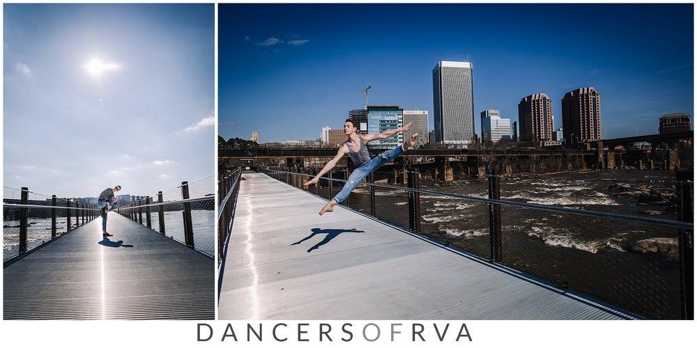 downtown richmond va dance photographer