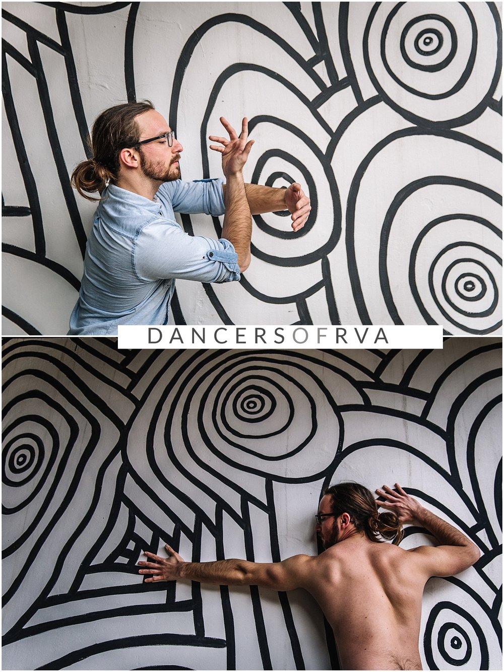 Dance photoshoot at canal walk mural