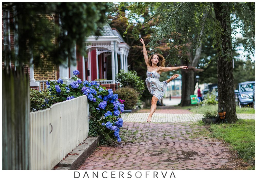 Dancer in Church Hill- Karar Dance Company- Richmond Dance Photographer