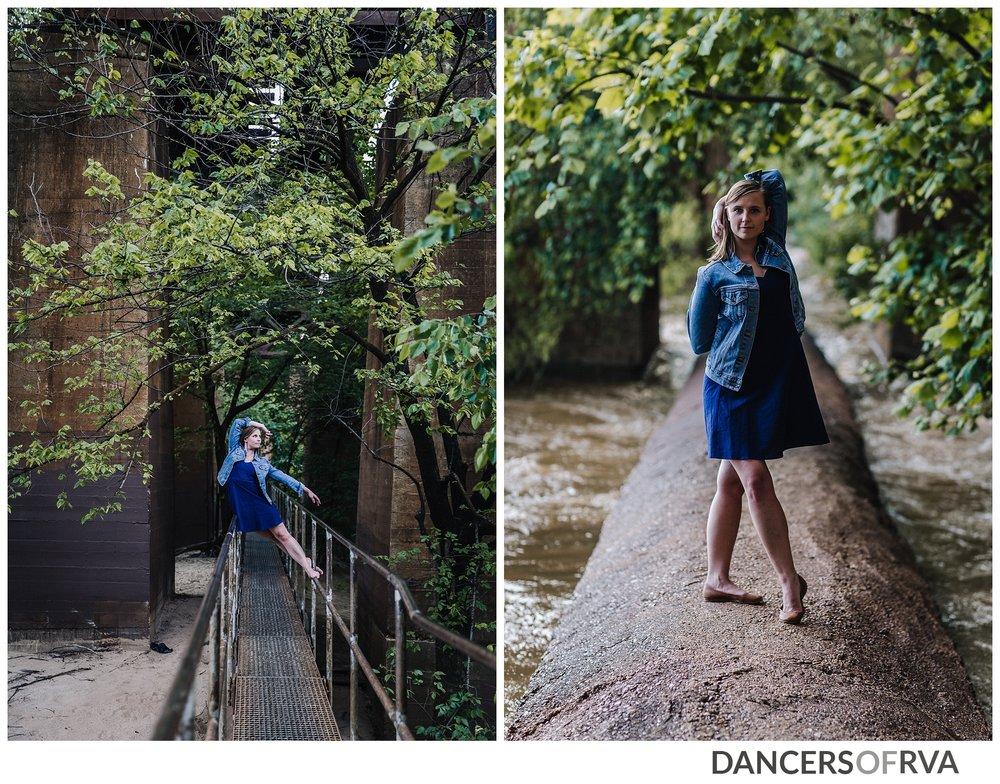 starr foster dancer at richmond va pipe line walk