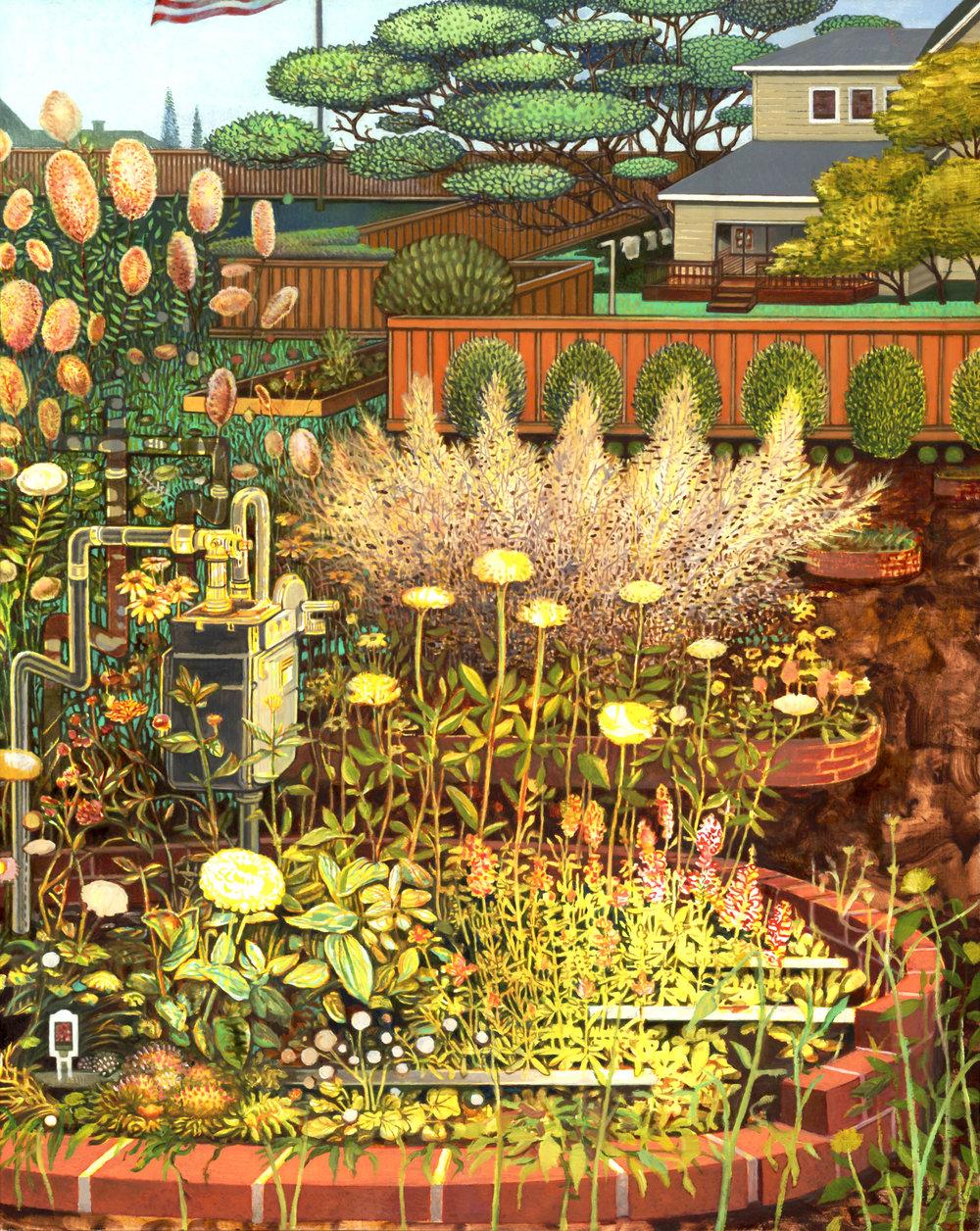 Gas Meter Garden