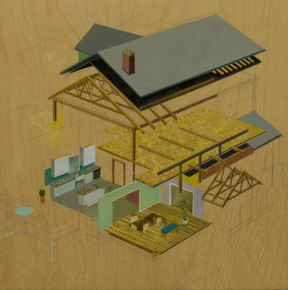Isometric Home Plan