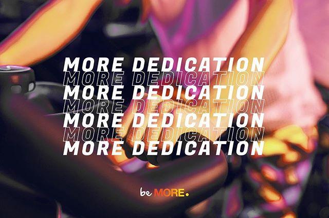 Success requires dedication.. Dedicate yourself to what gives your life true meaning and purpose!  النجاح يتطلب التفاني.. كرسي نفسك للأمور التي تضيف لحياتك معنى وهدف حقيقي!  #dedicateMORE #beMORE