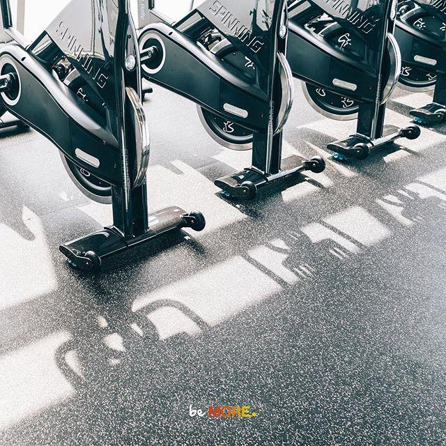 Spinning®️ An authentic road cycling experience indoors!  Spinning is a great workout that focuses on endurance, strength, intervals, high intensity and recovery.  Book your RIDE55 and SpinFusion class today: www.fitstudio55.com  ___________________  Spinning®️ تجربة مميزة لركوب الدراجات على الطرق داخل صالة مغلقة!  السبينينغ تمرين يركز على القدرة على التحمل والقوة وتمارين عالية الشدة وتمارين تزيد من لياقتك بشكل عام دون ضرر على المفاصل  احجزي كلاس RIDE55 و SpinFusion اليوم: www.fitstudio55.com ____________________  #rideMORE #sweatMORE #beMORE