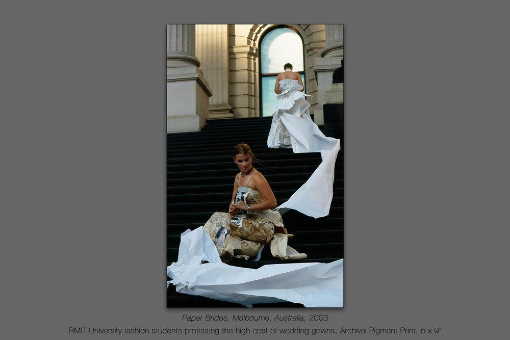 Paper Brides, Melbourne, Australia, 2003