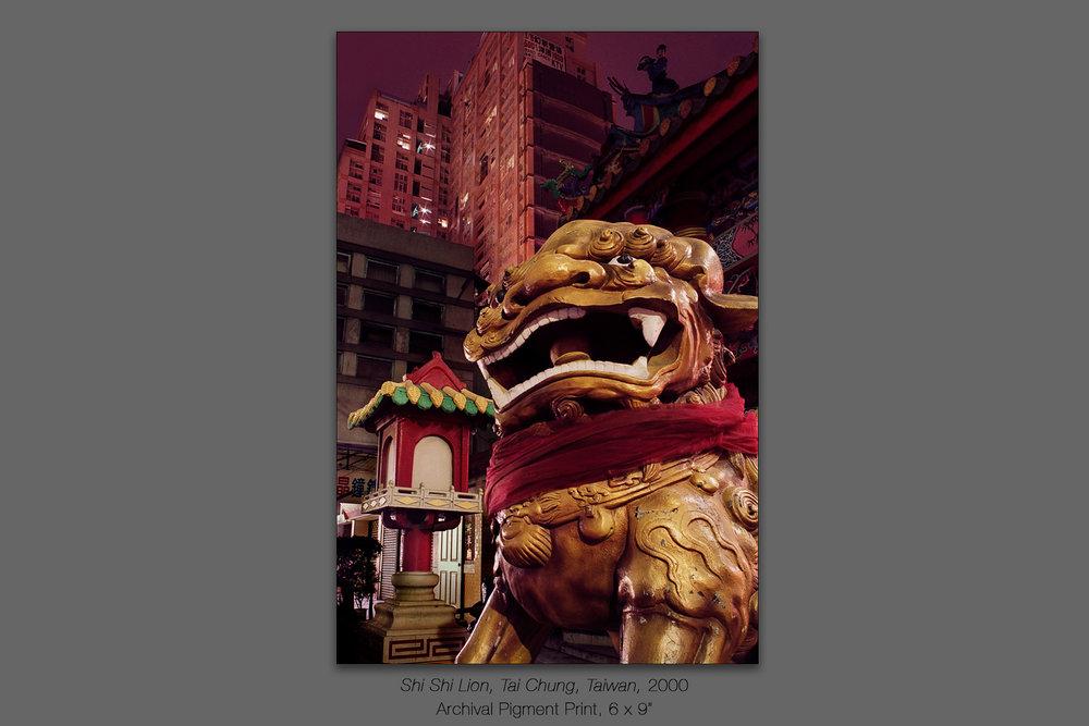Shi Shi Lion, Tai Chung, Taiwan, 2000
