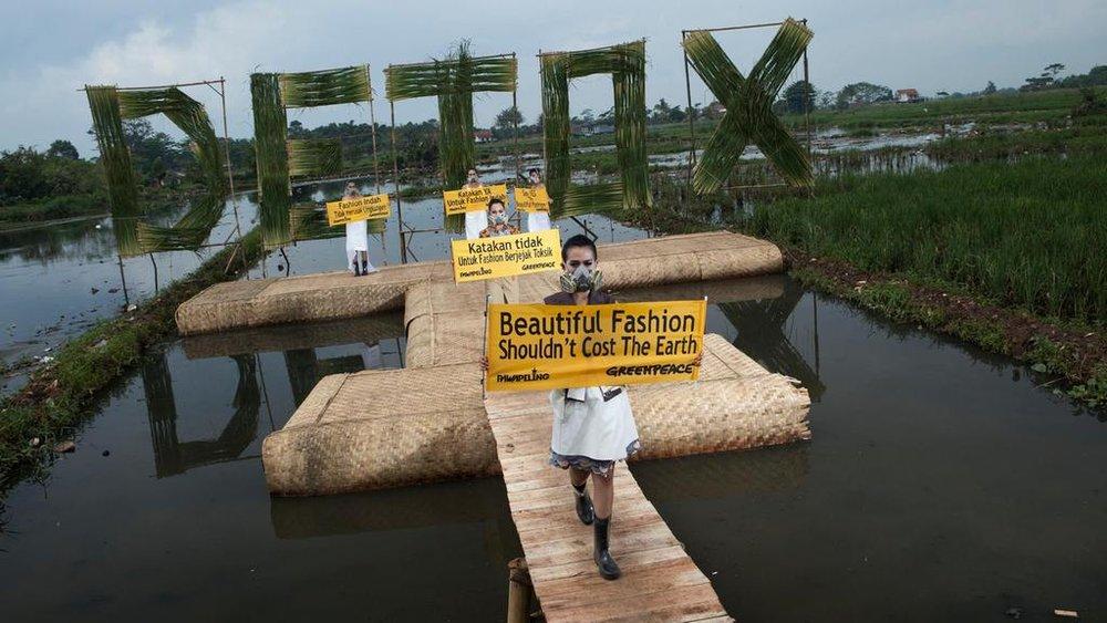 Detox Catwalk, Indonesia 2015. Courtesy The National