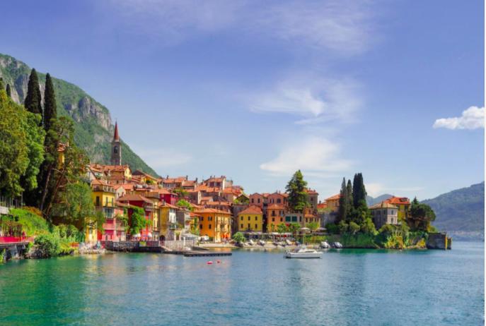 Lake Como, Lombardy, Italy.Courtesy of Proposte Como, Italy
