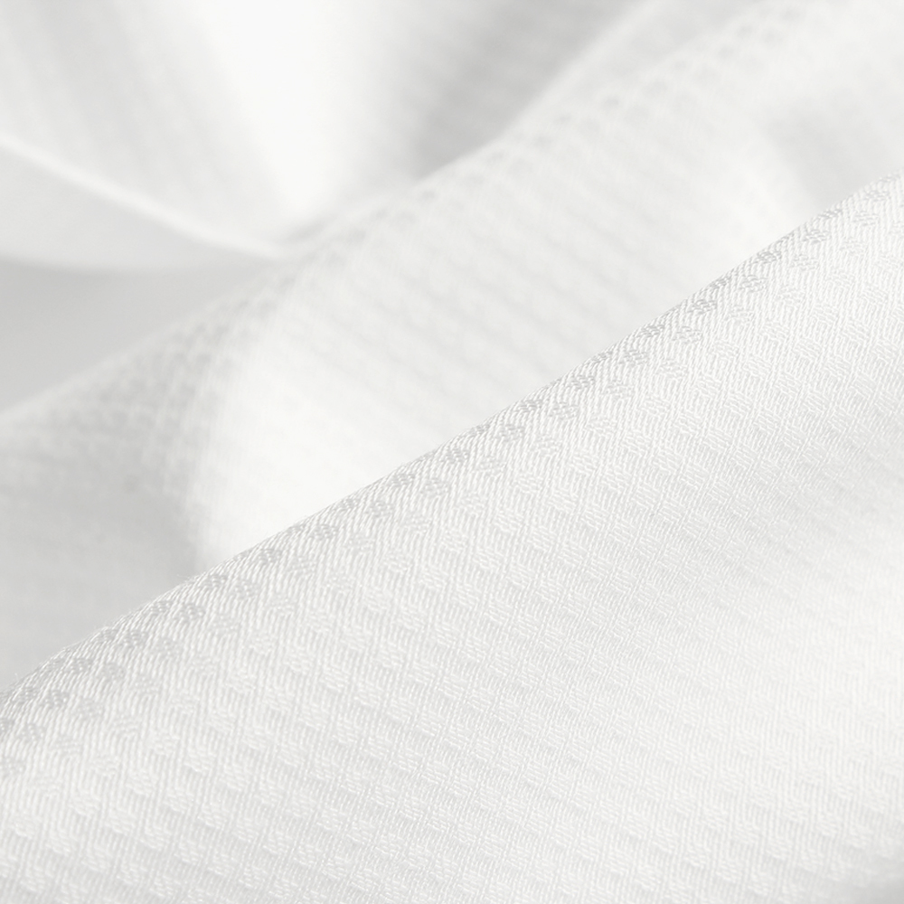 Supima® Cotton Dobby 141 White
