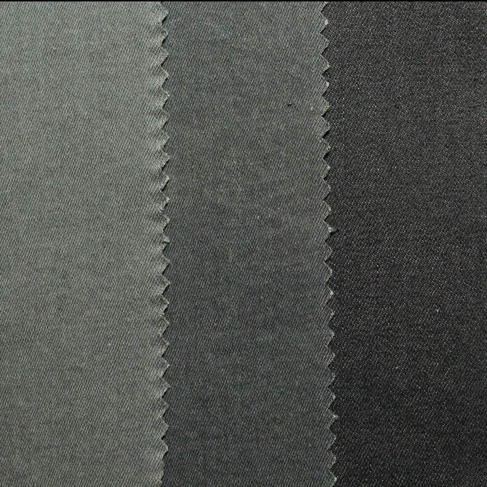 Grey, Flat Finishing, Stretch Denim