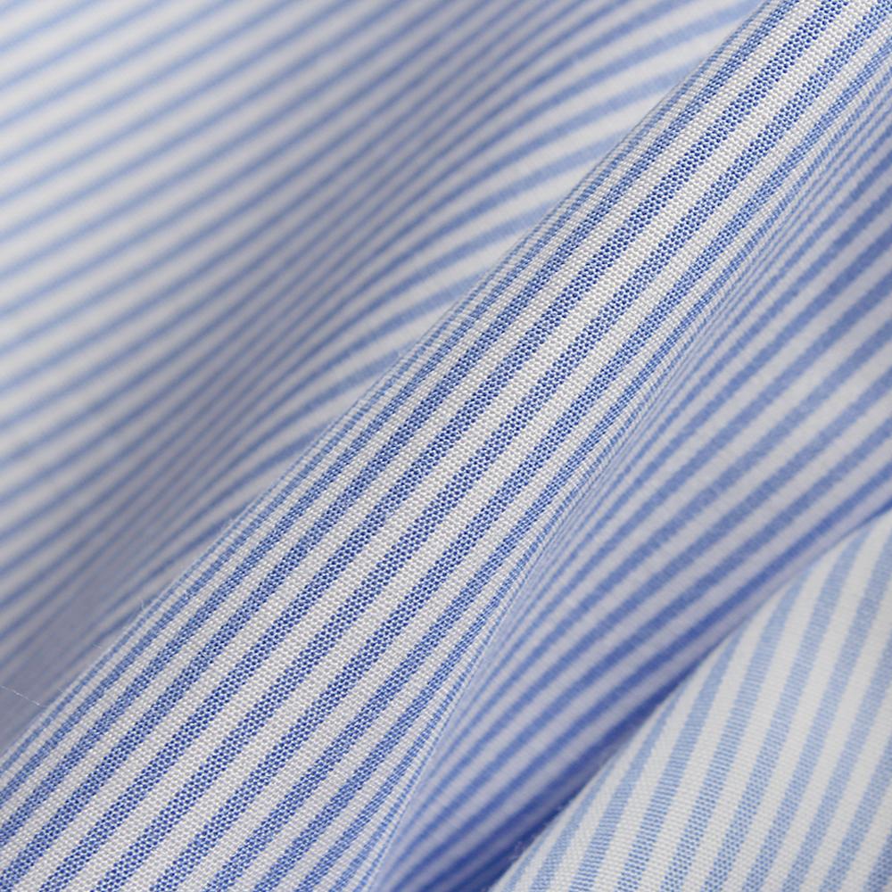 Supima® Cotton Poplin, Bora 80 Azzurro