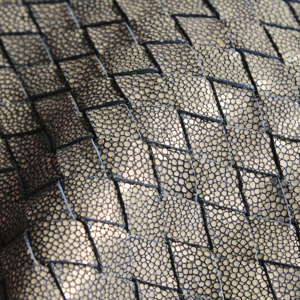 Stingray Leather Polished - Weave