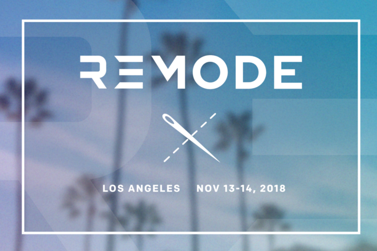 Courtesy,REMODE. Register today to join Benita and Le Souk in California
