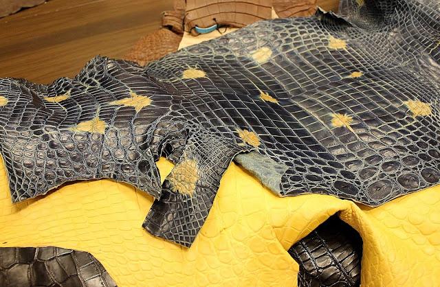 Eco-Friendly Crocodile Leather