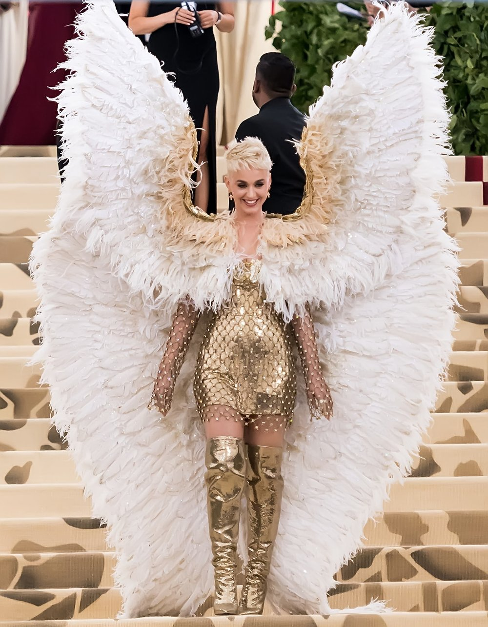 Katy Perry at the 2018 Met Gala this month.