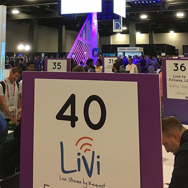 LiVi at @emergeamericas booth 40. Come check us out 🤓. #livestreaming #ondemand #miamitech #miamistartup #miami #southflorida #entrepreneur #veteranowned #veteranstartup #VETPRENEUR #veteranentrepreneur