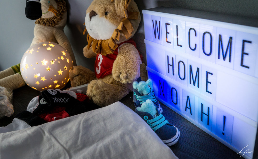 Welcome home baby - A newborn photo shoot