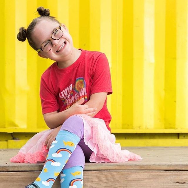 This Saturday, join @pridesocks at Dane's Body Shop for their fourth annual fundraising concert Rockin with Ruby, benefitting Ruby's Rainbow. Music by @westernyouthtx and @the_wheelwrights ✨ @rubysrainbow is a local non-profit that grants scholarships to adults with Down Syndrome to attend college or vocational/enrichment classes.  Tickets are $25 and 100% of proceeds goes back to Ruby's Rainbow. Info on our event calendar 🌈🌈🌈 . . . #goodpartyatx #austinmusic #atx #austingives #giveadamn #austinlife #austin360 #austinfood #austintexas #365thingsaustin #do512 #atxevents #giveback #igaustin #livebright #seemycity