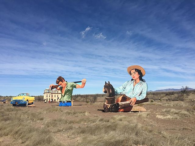 Dreaming of a little west Texas life after a busy & full #sxsw. We hope this week is good to you! ✌️ . . . #austinlife #westtexas #marfa #giant #jamesdean #texasmonthly #visittexas #texasforever #texasblogger #daytripper #thetexasbucketlist #tmwanders