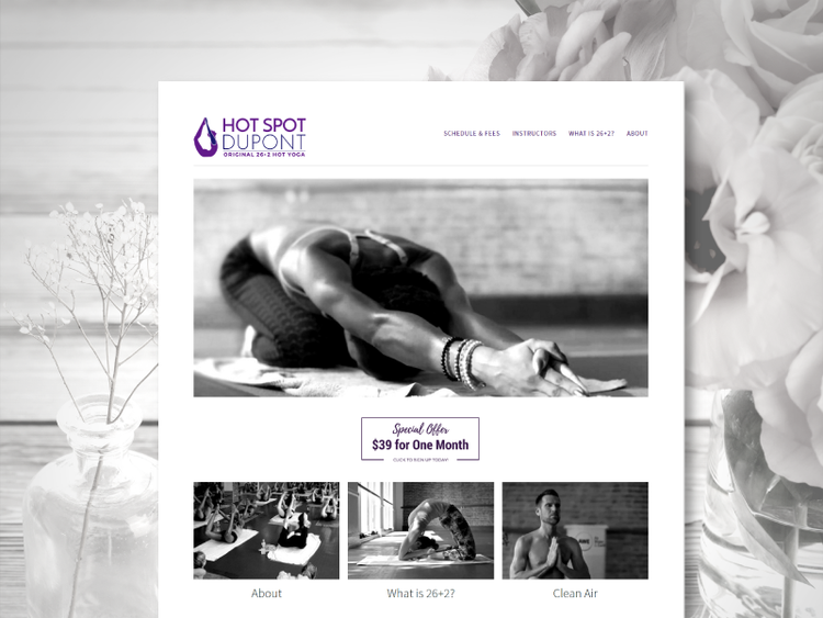 Yoga Studio Website