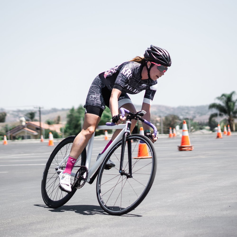 2018 San Rafael Crit - Jenny Quijada 3rd