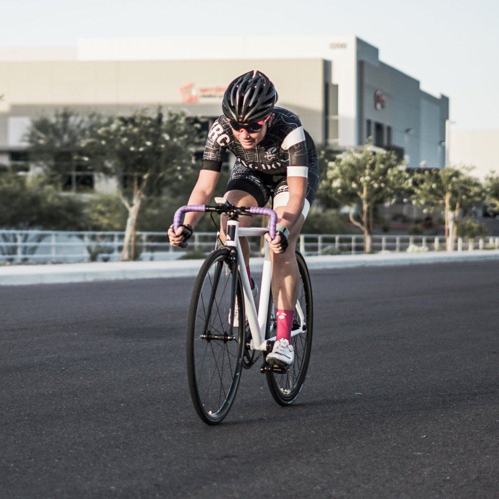 2018 Copper State Crit Series Race #2 - Jenny Quijada 3rd