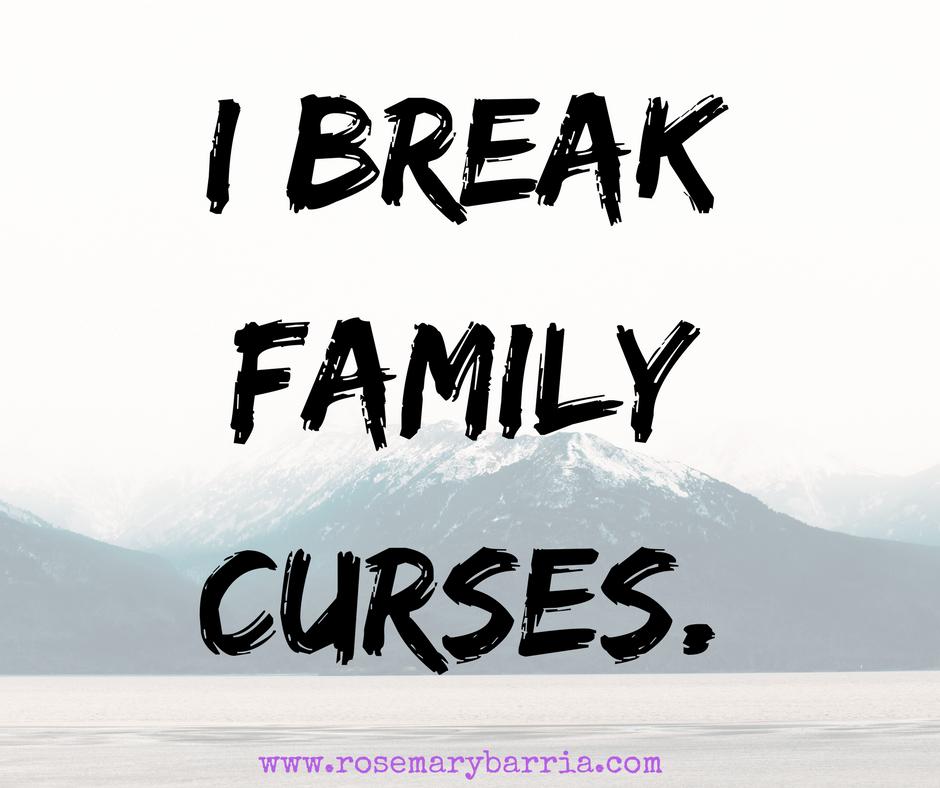 I Break Family Curses