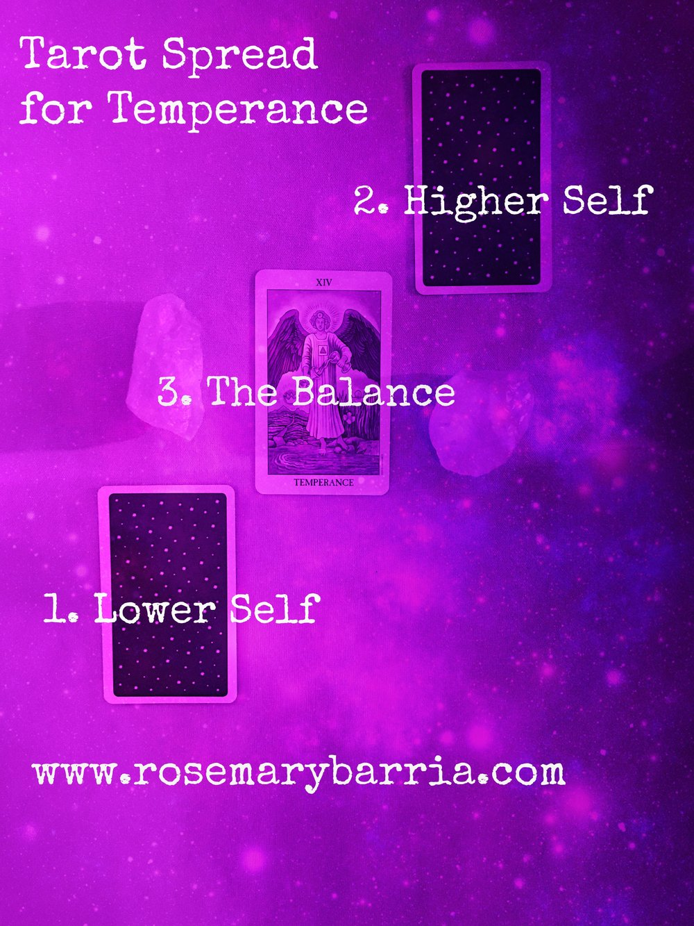 Tarot Spread for Temperance