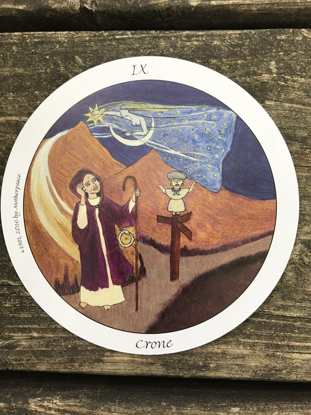 The Crone from Motherpeace