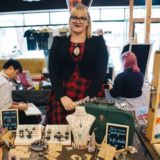We had a chat with Emily the creator of @le.ft_made a Melbourne based jewelery business. Le.ft made is most known for their folklore inspired necklaces which we think are really cool.  Read the full interview on our website, short read below:  Hw: Hello Emily big thanks for taking the time to chat with us. We want to start this interview off with a simple questions - what do you love about markets?  Emily: Seeing all the insane talent on offer! There are so many vibrant, intelligent, and creative people at markets like the Holy Weekender. I always leave with a collection of cool things.  Hw: Definitely agree, it's great to meet with new creative people at the HW market. Being creative can be difficult for some and easy for others, how did you come up with the concept for what you do?  Emily: I wanted to make jewellery that felt like it was straight out of fairy story; things that look like you could find them hidden in a hollow tree, or inside a fairy ring. I want people to feel magical and whimsical when they put on a piece of jewellery I've created.  Read the full interview on our website www.theholyweekender.com  #theholyweekender #thewcss