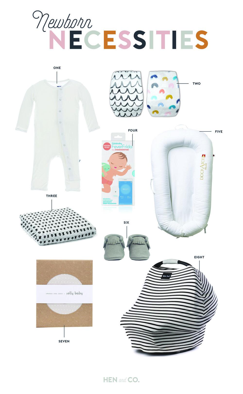 d0eec35657d Newborn Necessities for the 4th Baby — Hen & Co