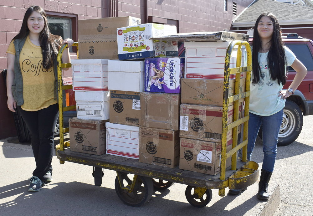 We shipped the 16 boxes of books and learning materials to the African Library Project which then ships them to the school/care center in Malawi, Africa. We wish we could see the children's faces when they see all the boxes and their new library!!