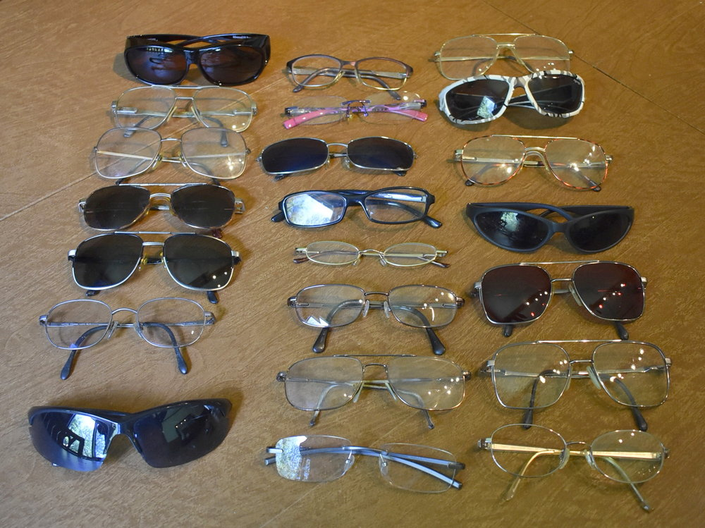 25 pairs of glasses were donated on July 11th to the Scandia-Marine Lions Club. These will be refurbished and given to people in need.