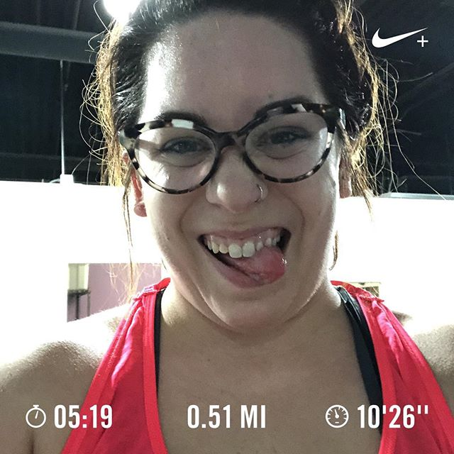 Aaaaand she's back! Feeling great on my run today. I even walked a mile on an incline first. Gotta get ready for Brady Street.