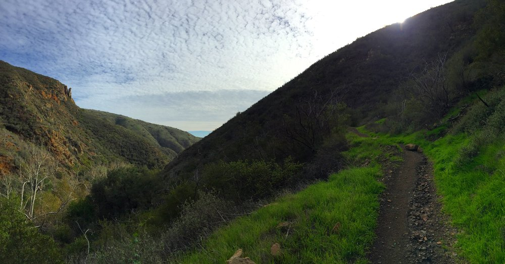 Solstice Canyon in Malibu, CA