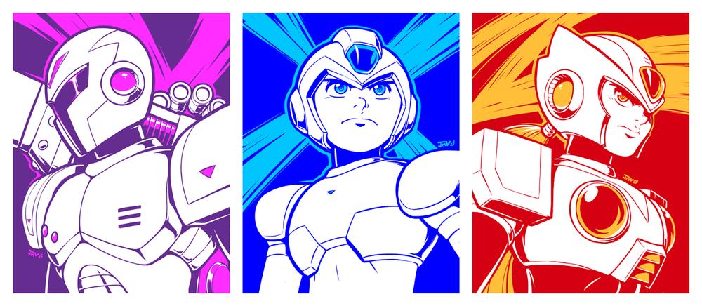 Mega Man X Tryptic