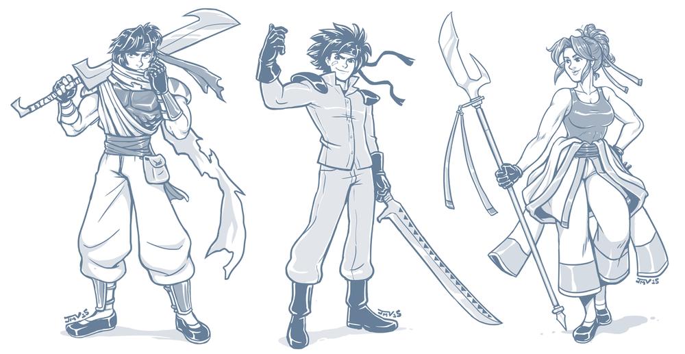 Gate of Zerberus Character Designs